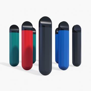 Novel Vape Pen Disposable 0.5ml Ceramic Vape Pen with White Color Rubber Finish Battery
