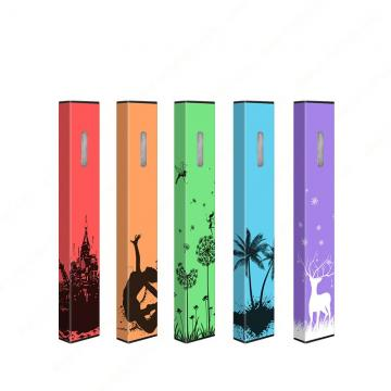 Russian Version Multi Flavors Disposable Electronic Cigarette Colored Vape