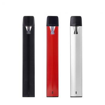 Rechargeable 510 disposable ceramic mouthpiece cbd vape vaporizer pens full gram white black color