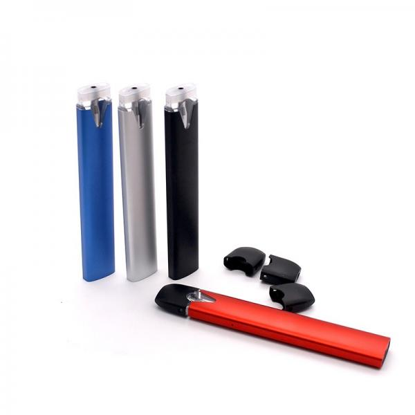 Custom Design Logo Colored Smoke Cigarette E Juice E-Cigarette Vape Disposable #3 image