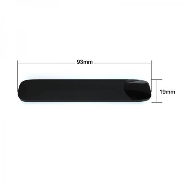 Magnet Connection Disposable Closed Pod Empty Black Cyan E Cigarette Vape Pen #1 image